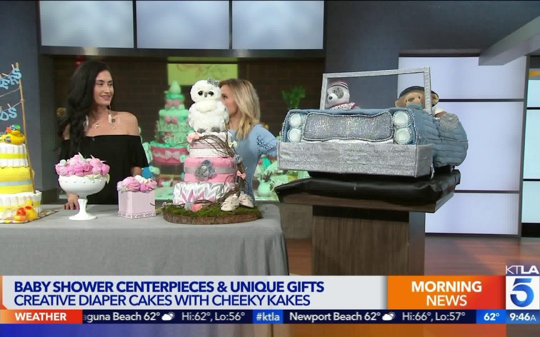 KTLA Channel 5 Features our baby Shower Kakes
