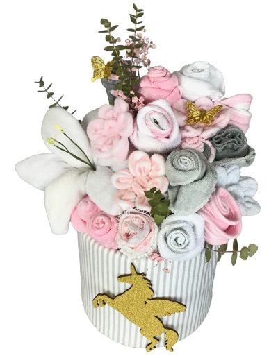 Unicorn Flowers Kake