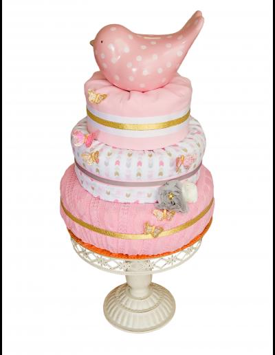 Pink Bird Kake