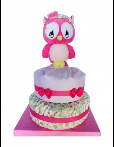 Pink Owl Kake
